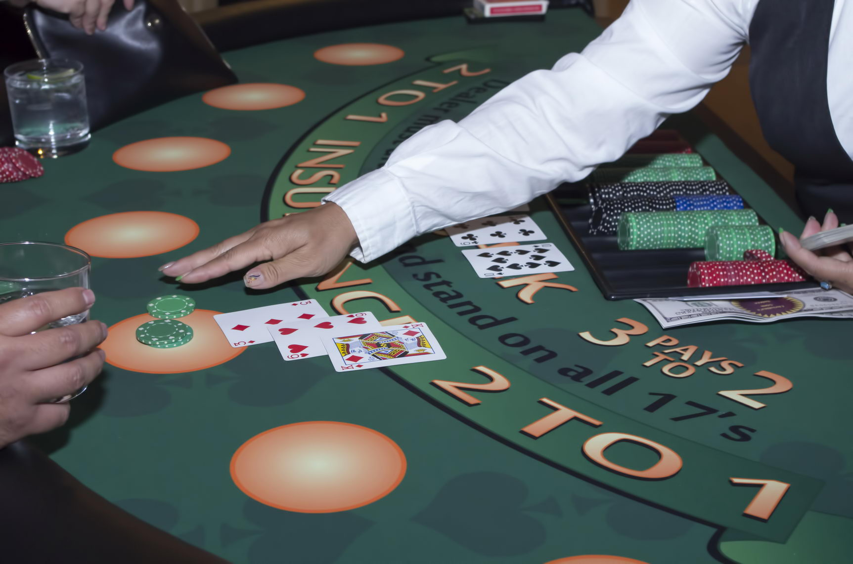 Rent Casino-Quality Blackjack Table in S.F.
